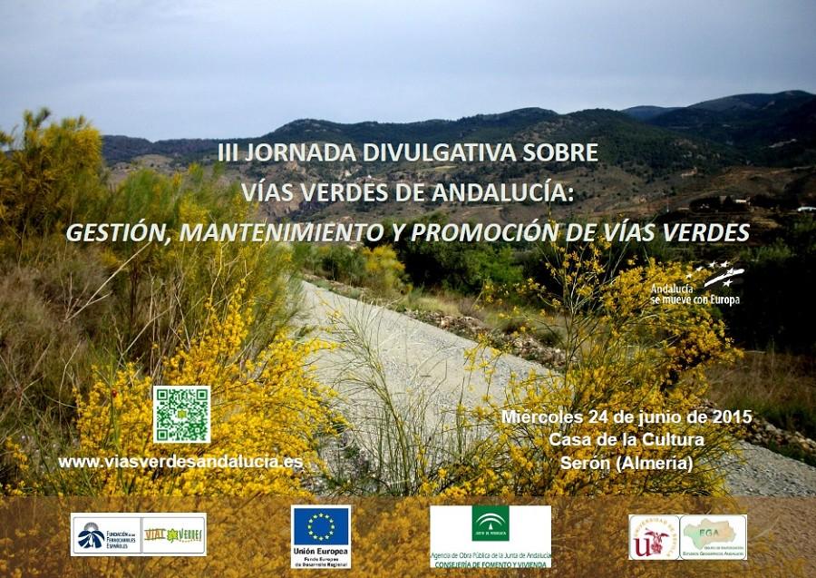 cartel anunciador Jornada en Almería.