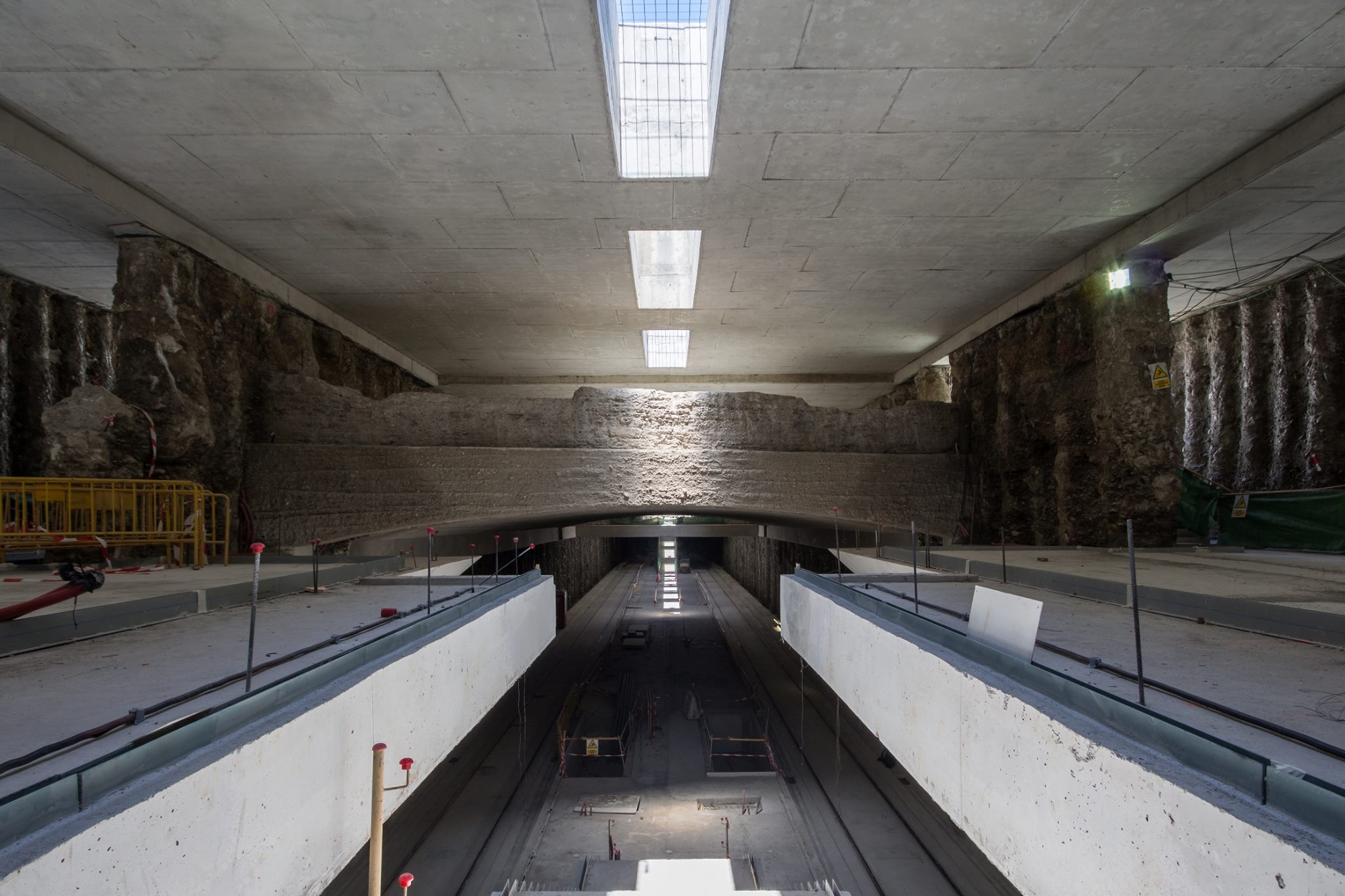 Estación de metro de Alcázar Genil.