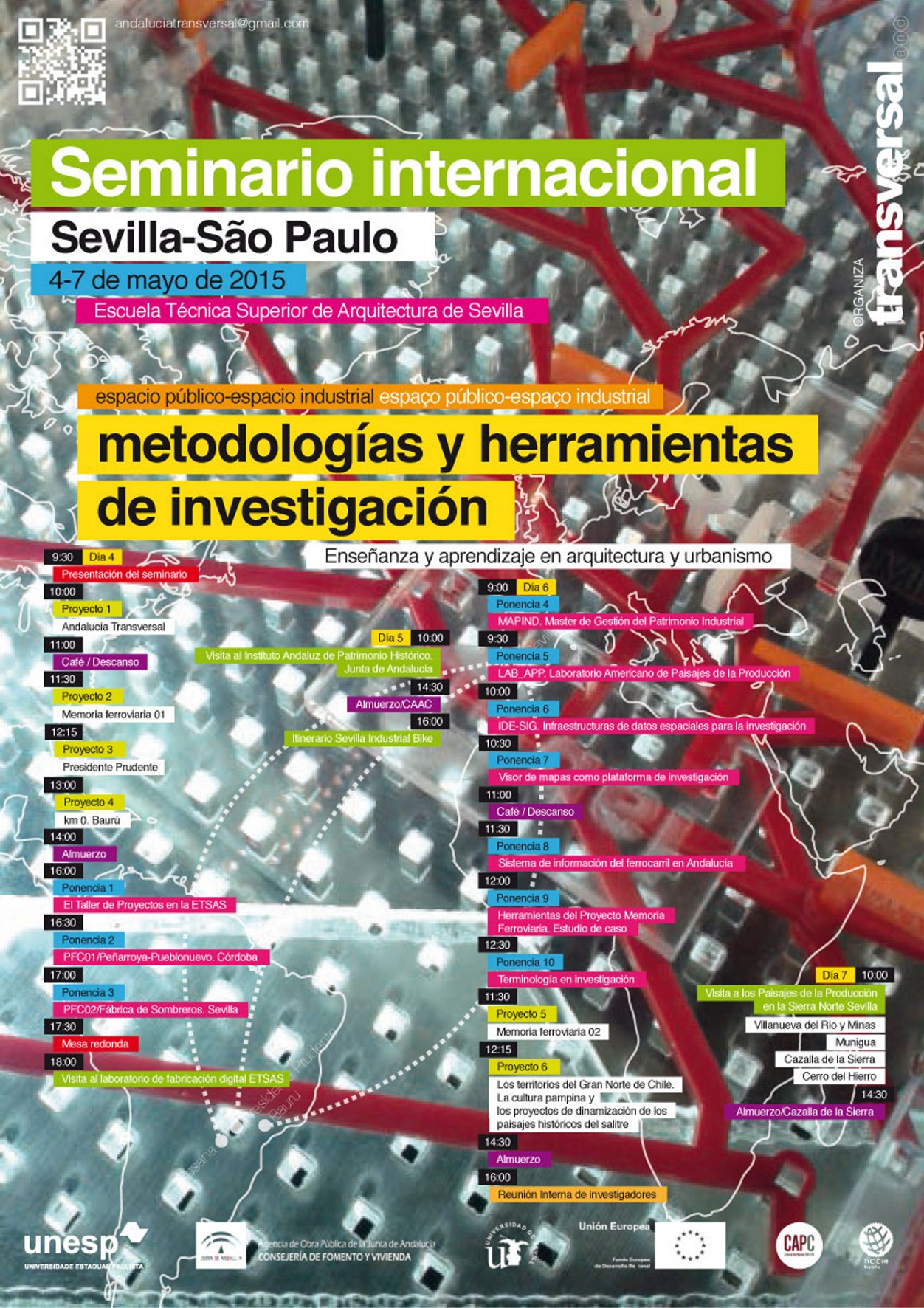 Cartel Seminario Internacional ESPACIO INDUSTRIAL