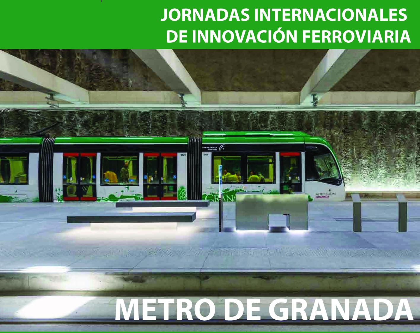 Metro de Granada en la Estación de Alcázar - Genil. Fotografía: Antonio Luis Martínez Cano.