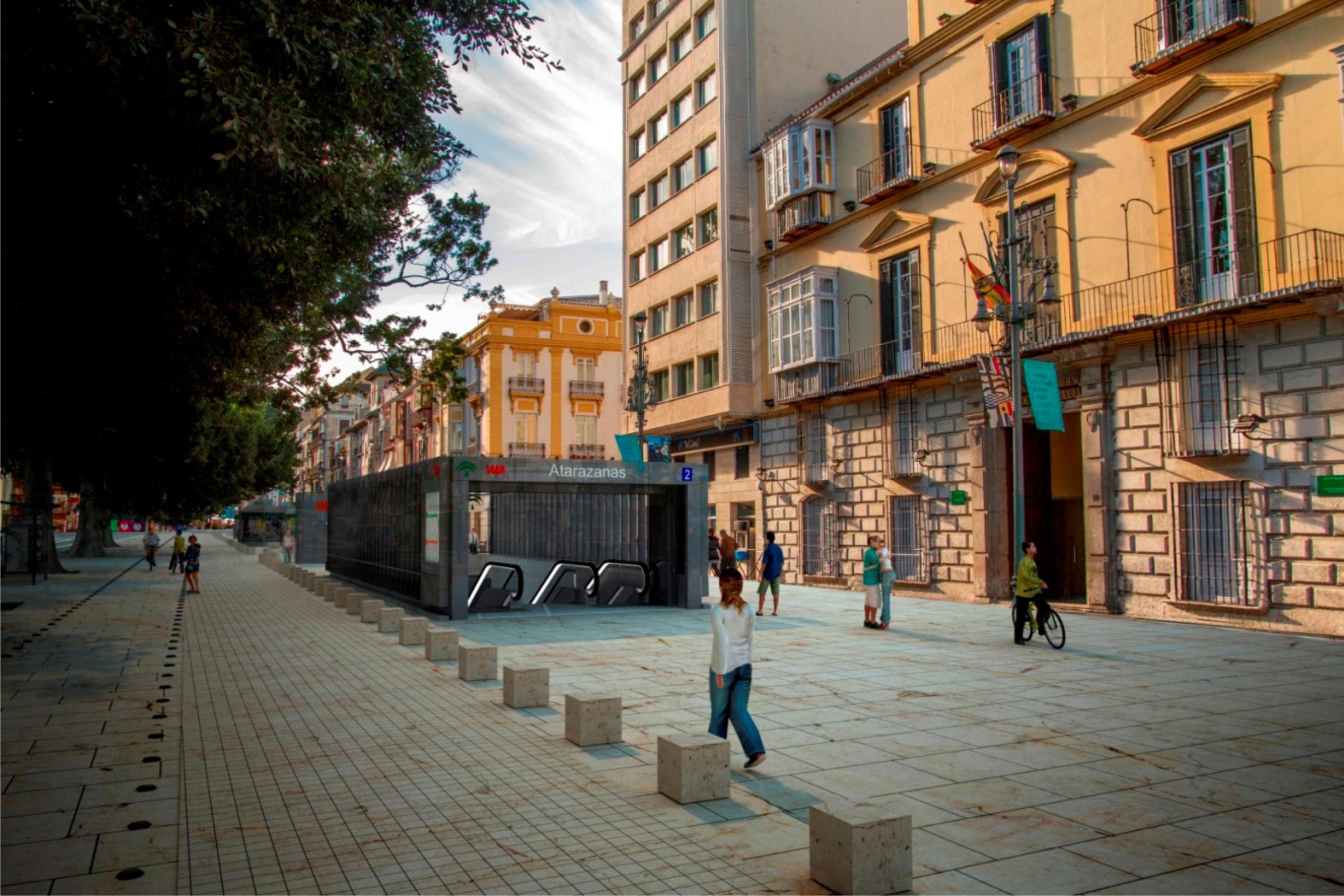 LICITACI�N: Obras de la infraestructura y superestructura de v�a de las L�neas 1 y 2 del Metro de M�laga, Tramo: Guadalmedina-Atarazanas