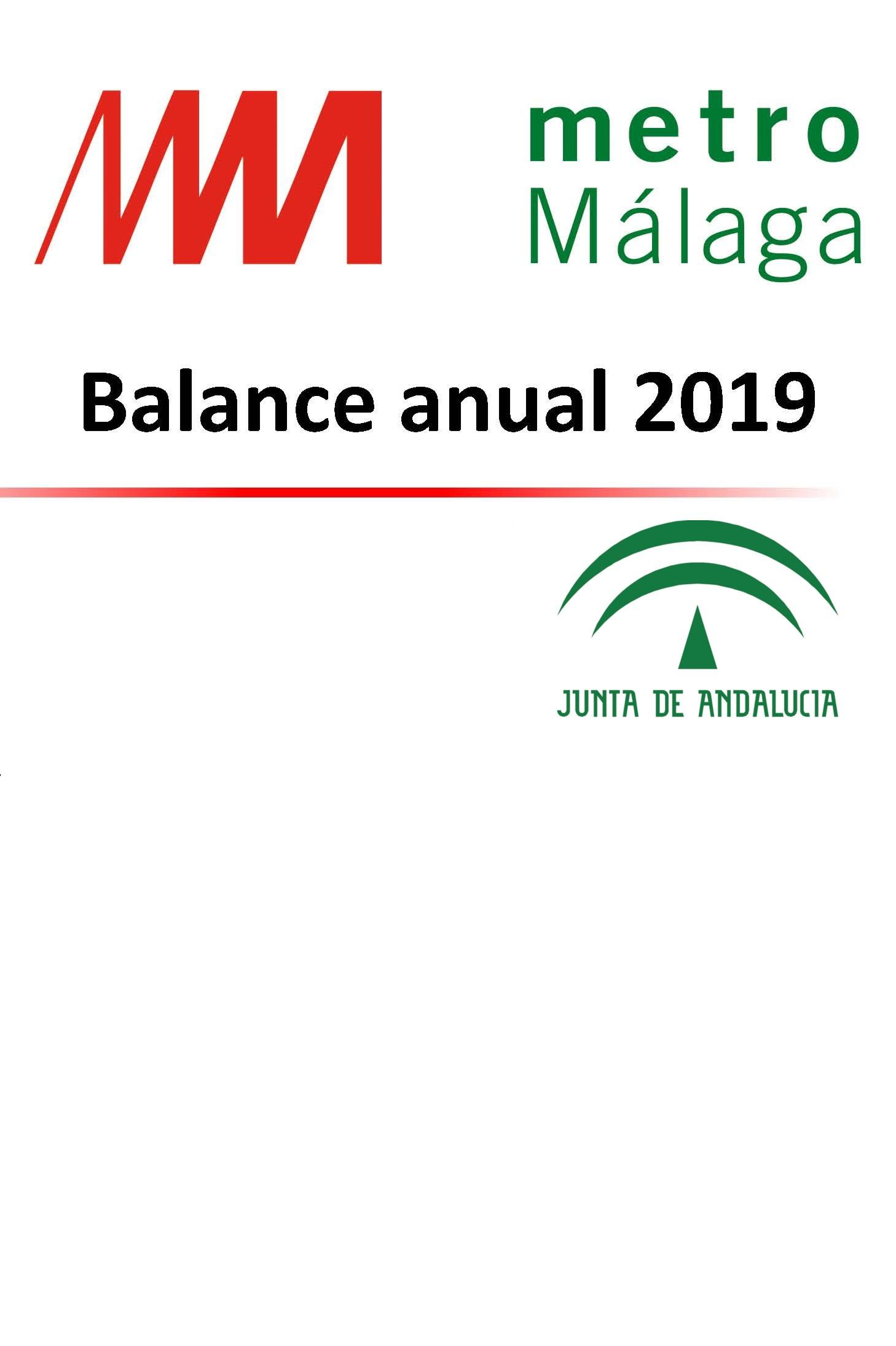 Balance Anual METRO DE MÁLAGA 2019
