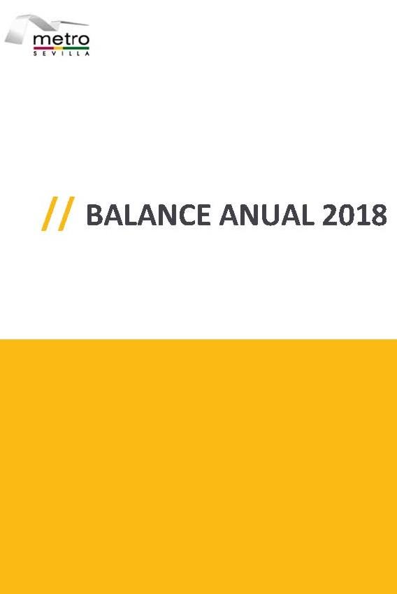 Balance 2018 Metro de Sevilla