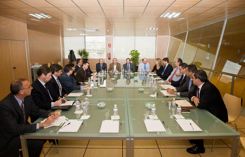 Detalle de la reunión en Metro de Sevilla