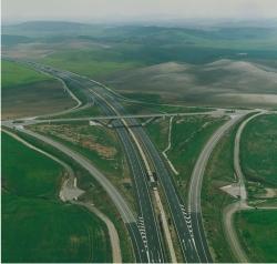 Fotografía aérea del tramo 1 de la A-381.