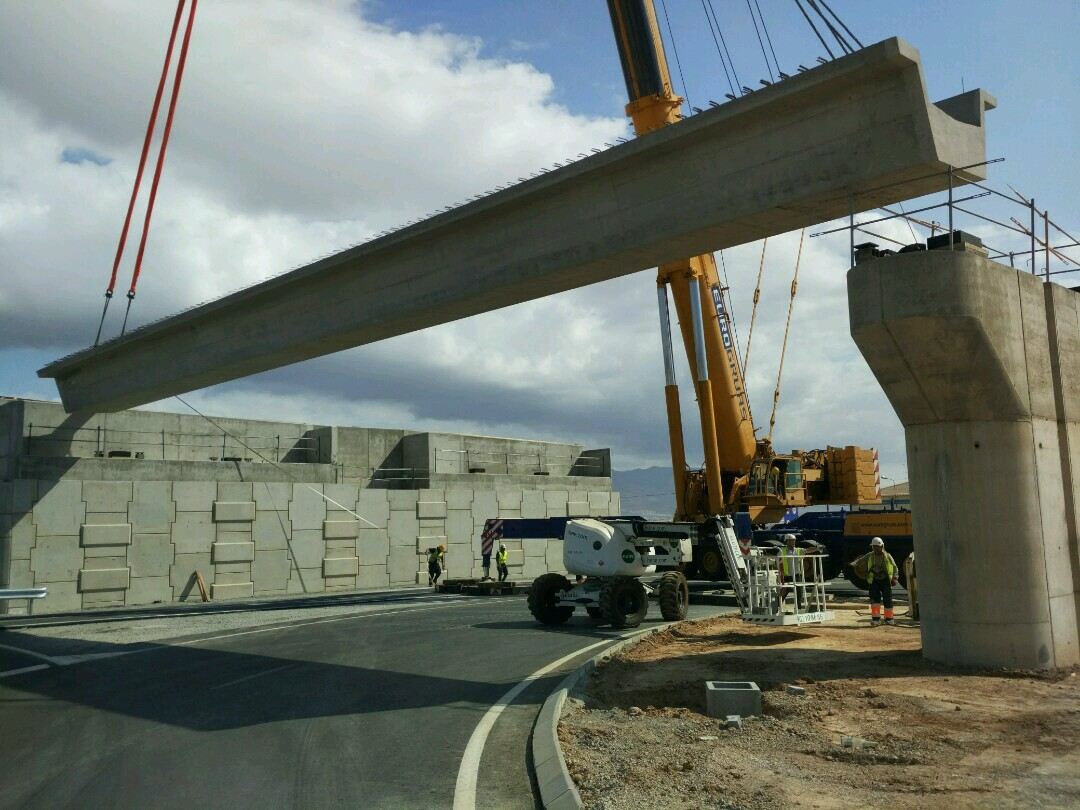 Esta infraestructura viaria, que se concluirá en septiembre, representa una inversión de 43,3 millones de euros.