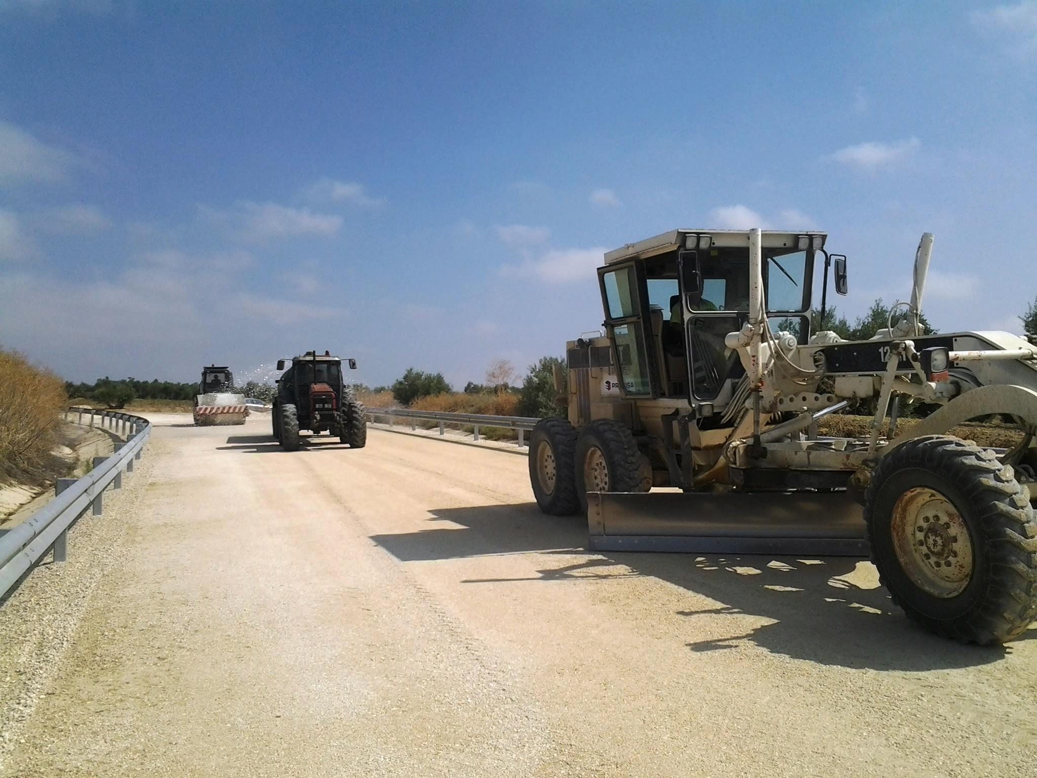 Las obras de esta infraestructura viaria en la provincia de Ja�n se reanudaron a finales del pasado mes de julio.