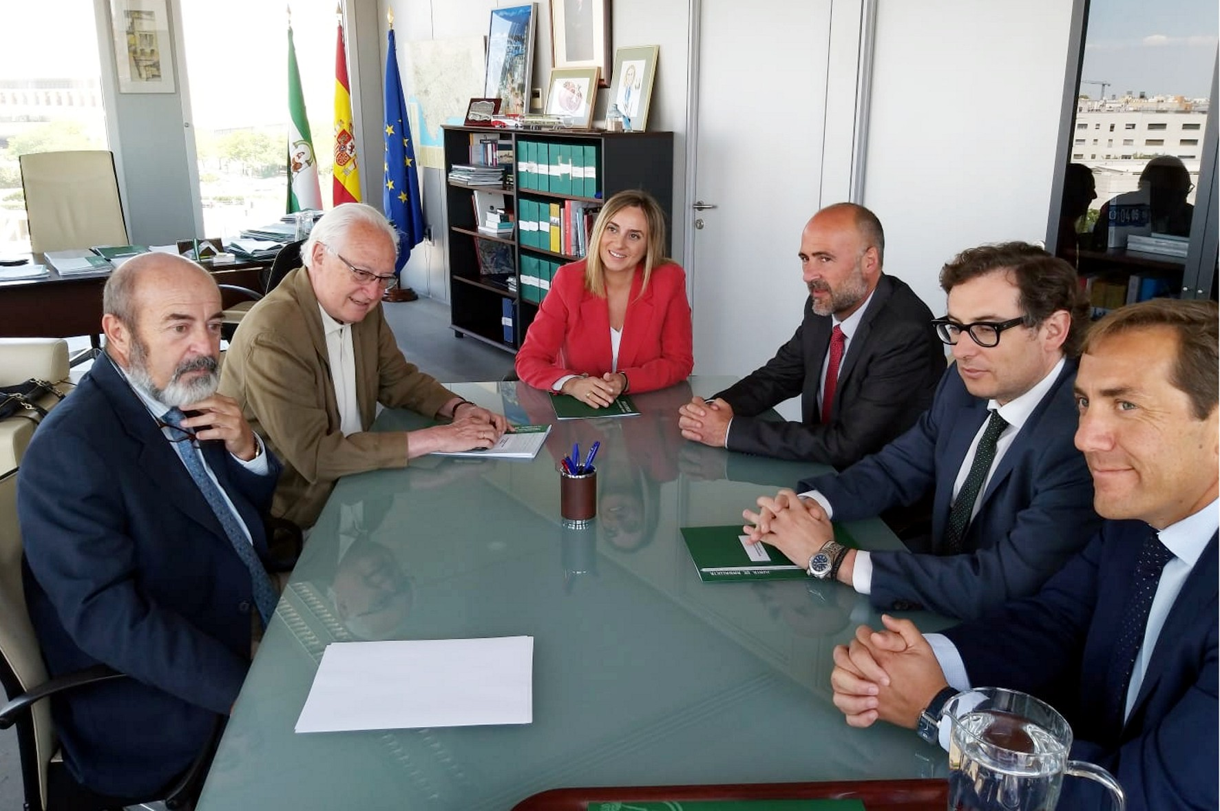 Reunión de la Consejería de Fomento con los responsables de AVANZA.