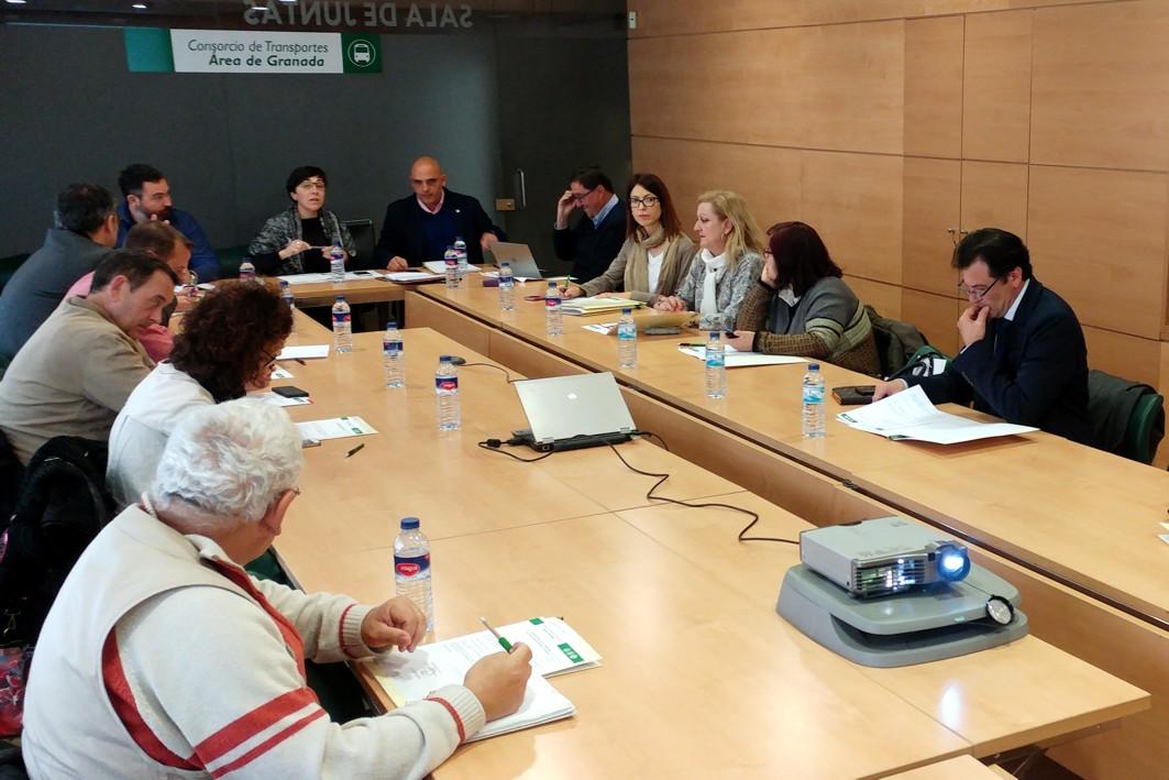 Reunión esta mañana del Consorcio de Transportes Metropolitano.