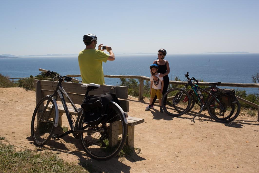 Los itinerarios ciclistas invitan el turismo activo.