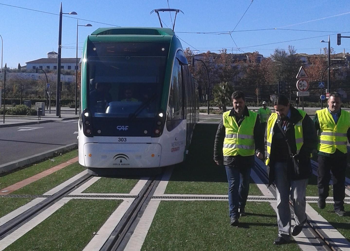 El tren ha llegaod hoy a la estaci�n de Autobuses de G