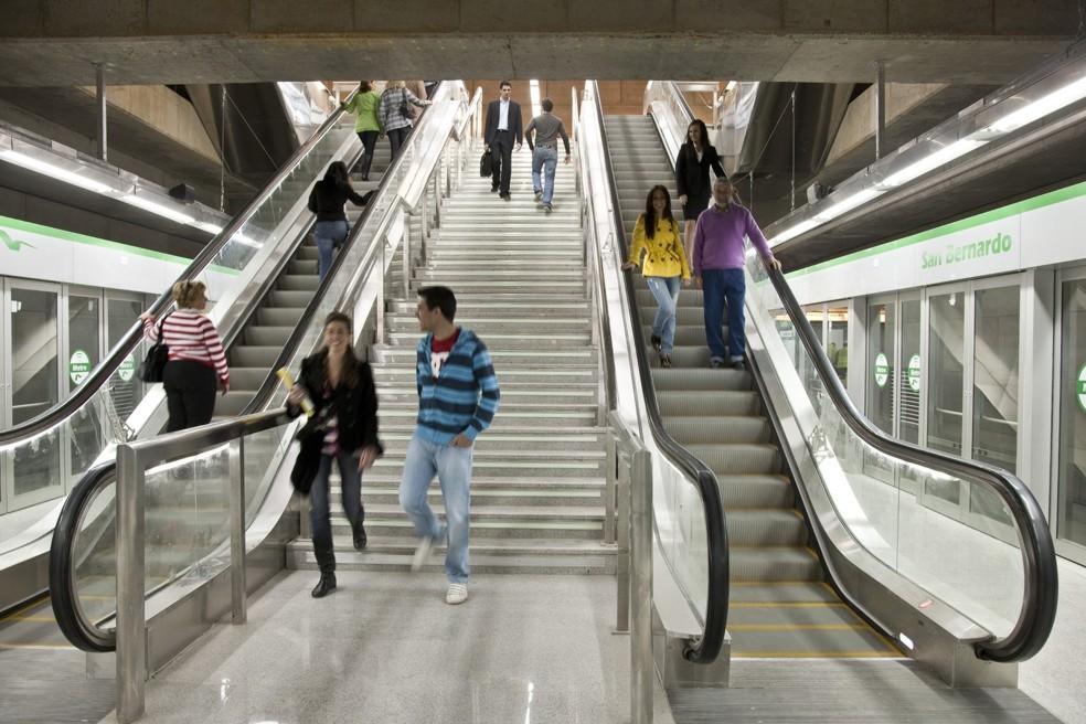 El promedio diario en días laborales se sitúa en casi 57.000 pasajeros/día.