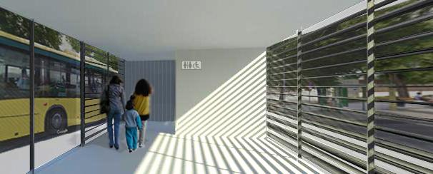 Simulación futuro apeadero de Chiclana