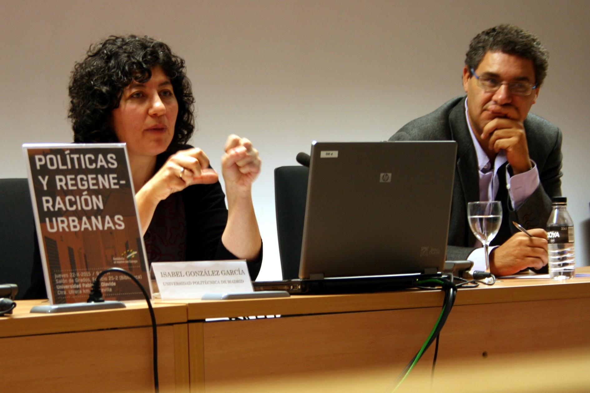 Isabel González García, UPM.