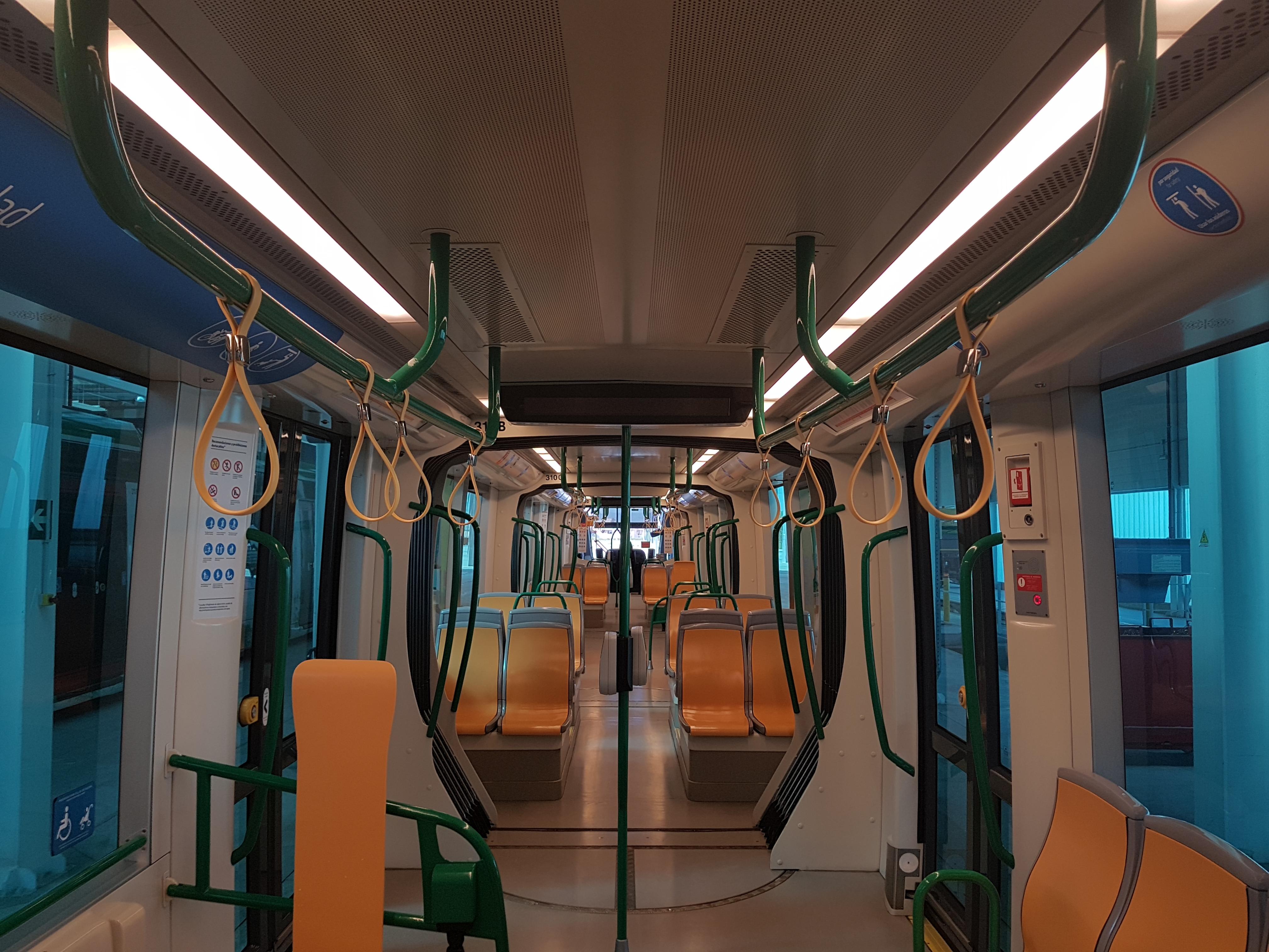 Incorporamos hasta 40 nuevos puntos de sujeción en cada unidad de metro