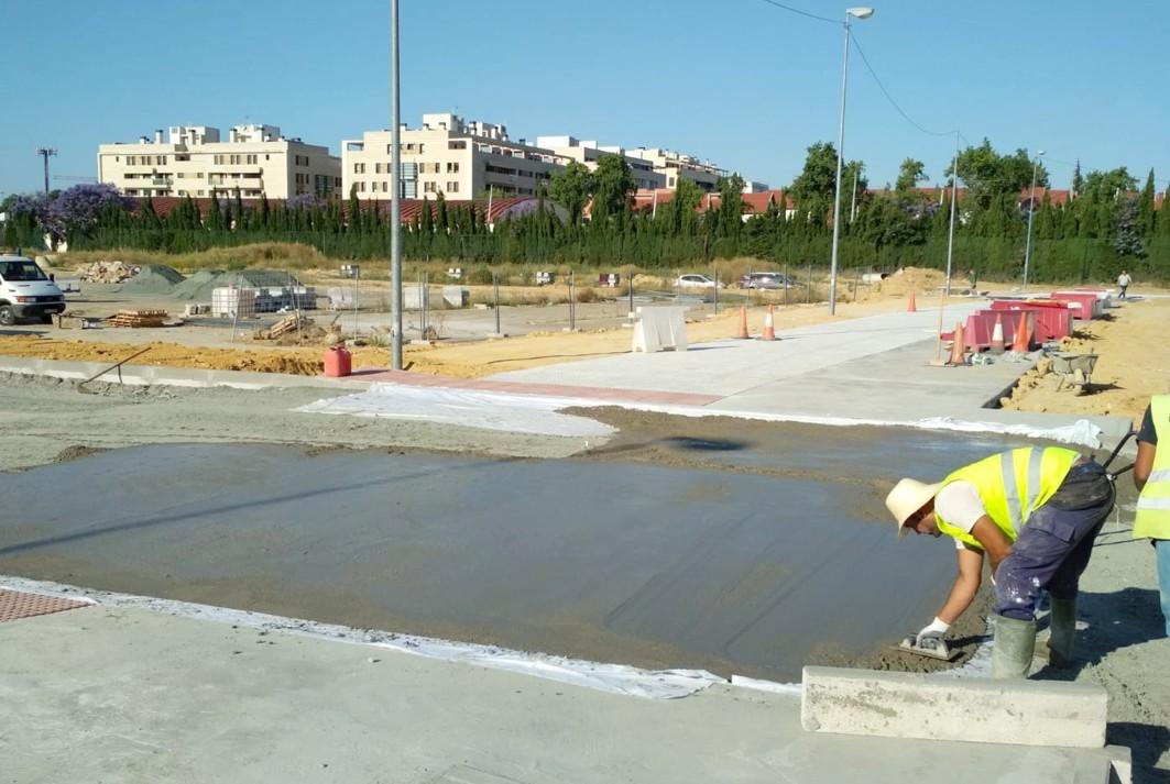 Las obras se aproximan a Ciudad Expo.