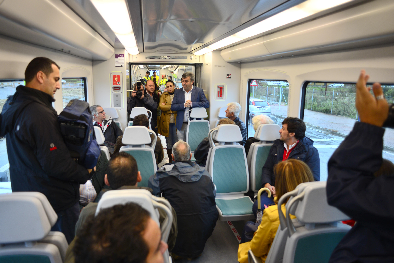 El trayecto se ha efectuado entre las paradas de Ardila y Pinar de los Franceses.