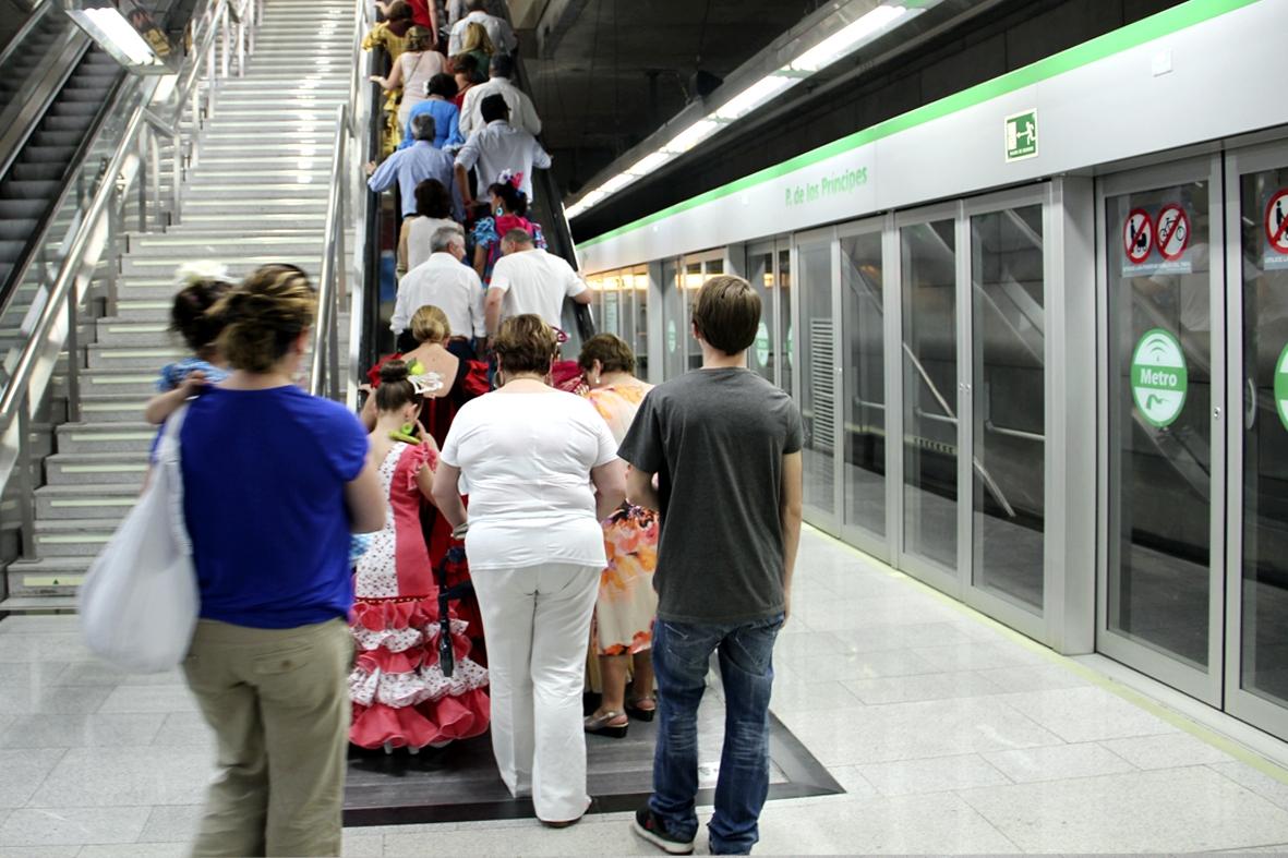 El promedio diario se ha situado en los 102.019 viajeros al d�a y la jornada de mayor afluencia fue la del martes