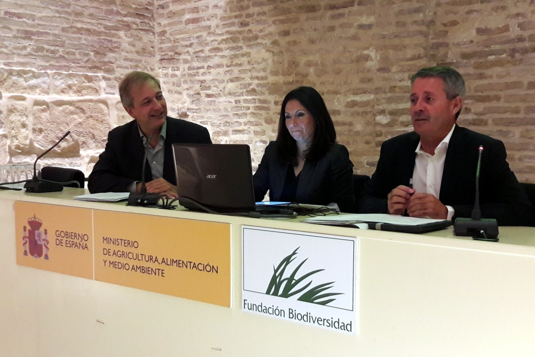 Acto de apertura de las jornadas t�cnicas sobre v�as verdes en Sevilla.