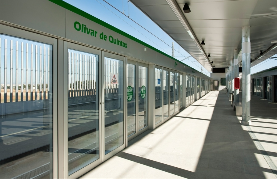 Desde el próximo lunes 4 de septiembre el trayecto entre las estaciones Pablo de Olavide y Olivar de Quintos se realizará con normalidad.