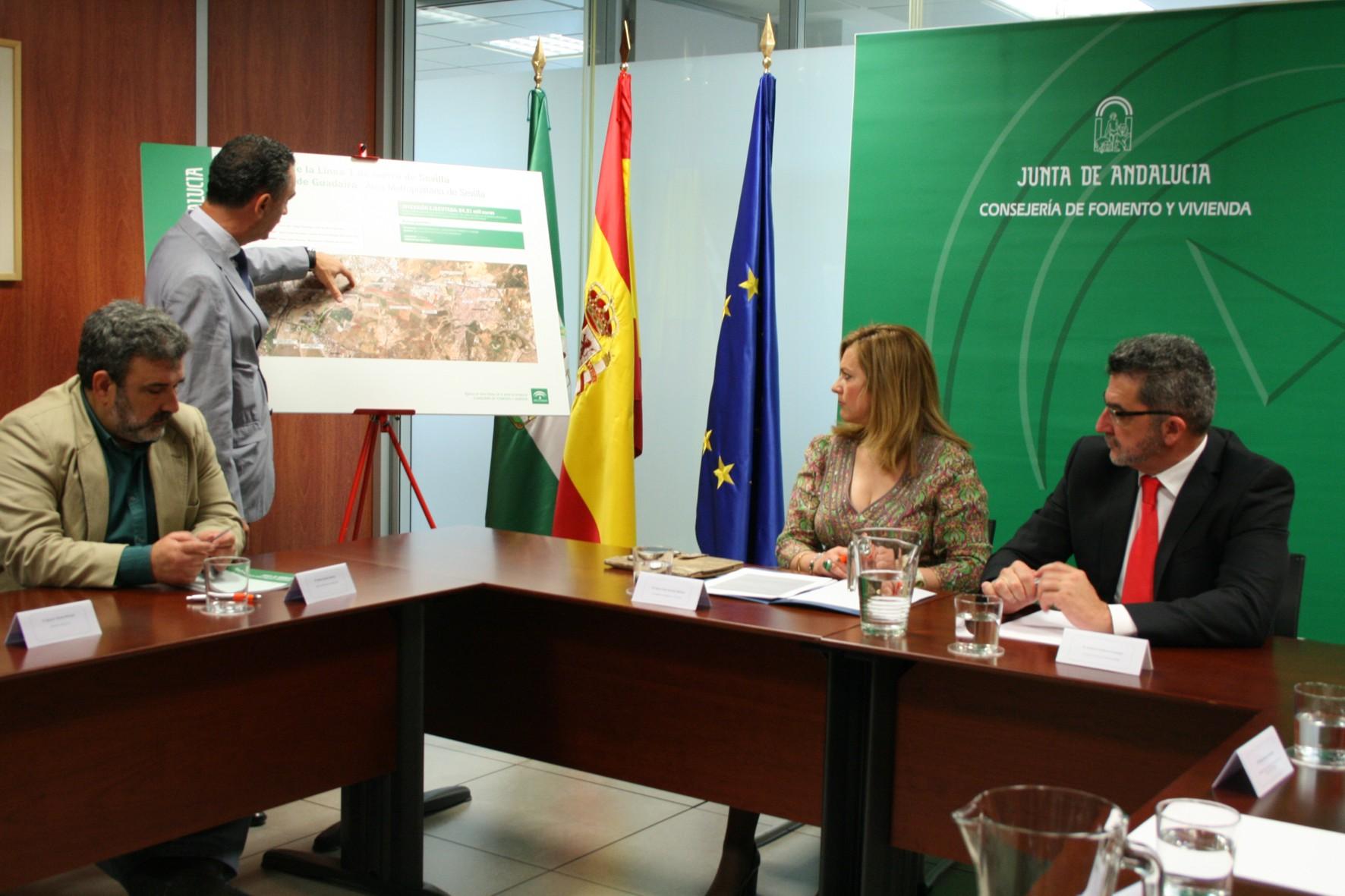 Reactivadas las obras del tranvía de Alcalá de Guadaíra en su ...
