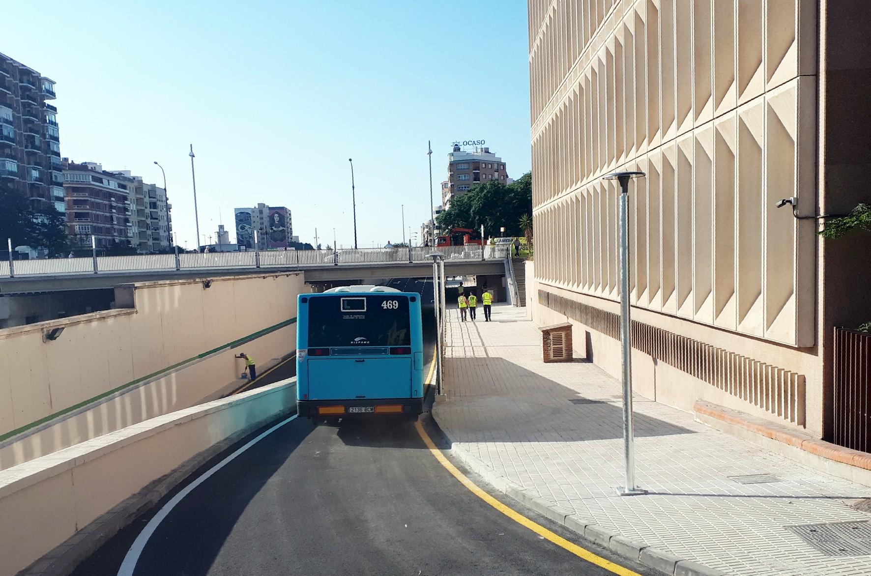 El transporte público recupera el itinerario de los paseíllos de Santo Domingo.