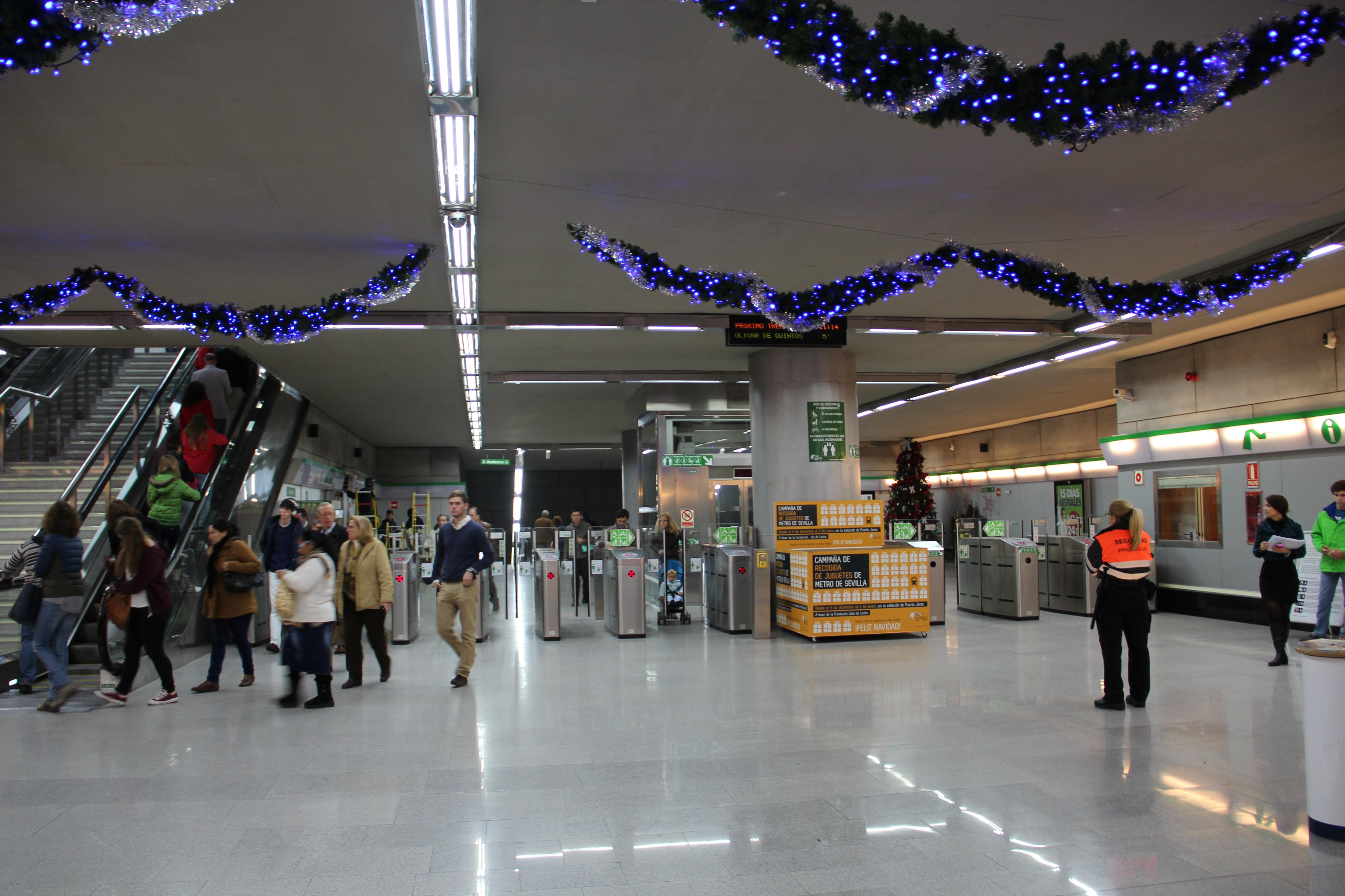El metro mejora su frecuencia para dar mejor servicio a los ciudadanos.
