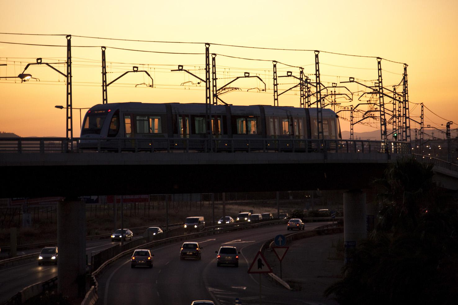 Este tramo suponía la conexión de la Línea 1 del Metro de Sevilla con el núcleo urbano de Dos Hermanas