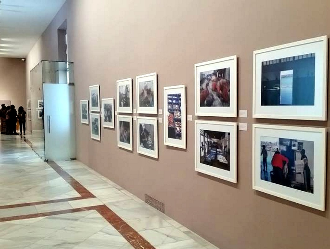 Exposición de fotos sobre Puertos en Sevilla.