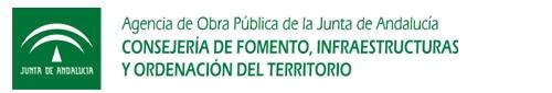 ir a la web de la Agencia de Obra Pública de la Junta de Andalucía
