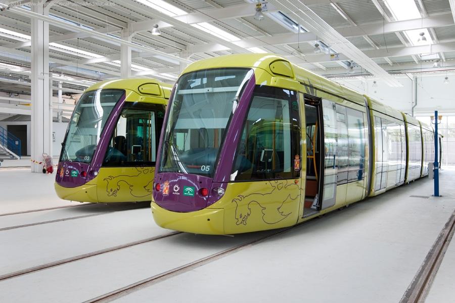 El Tranvía de Jaén está diseñado para prestar servicio a los principales equipamientos públicos de la ciudad