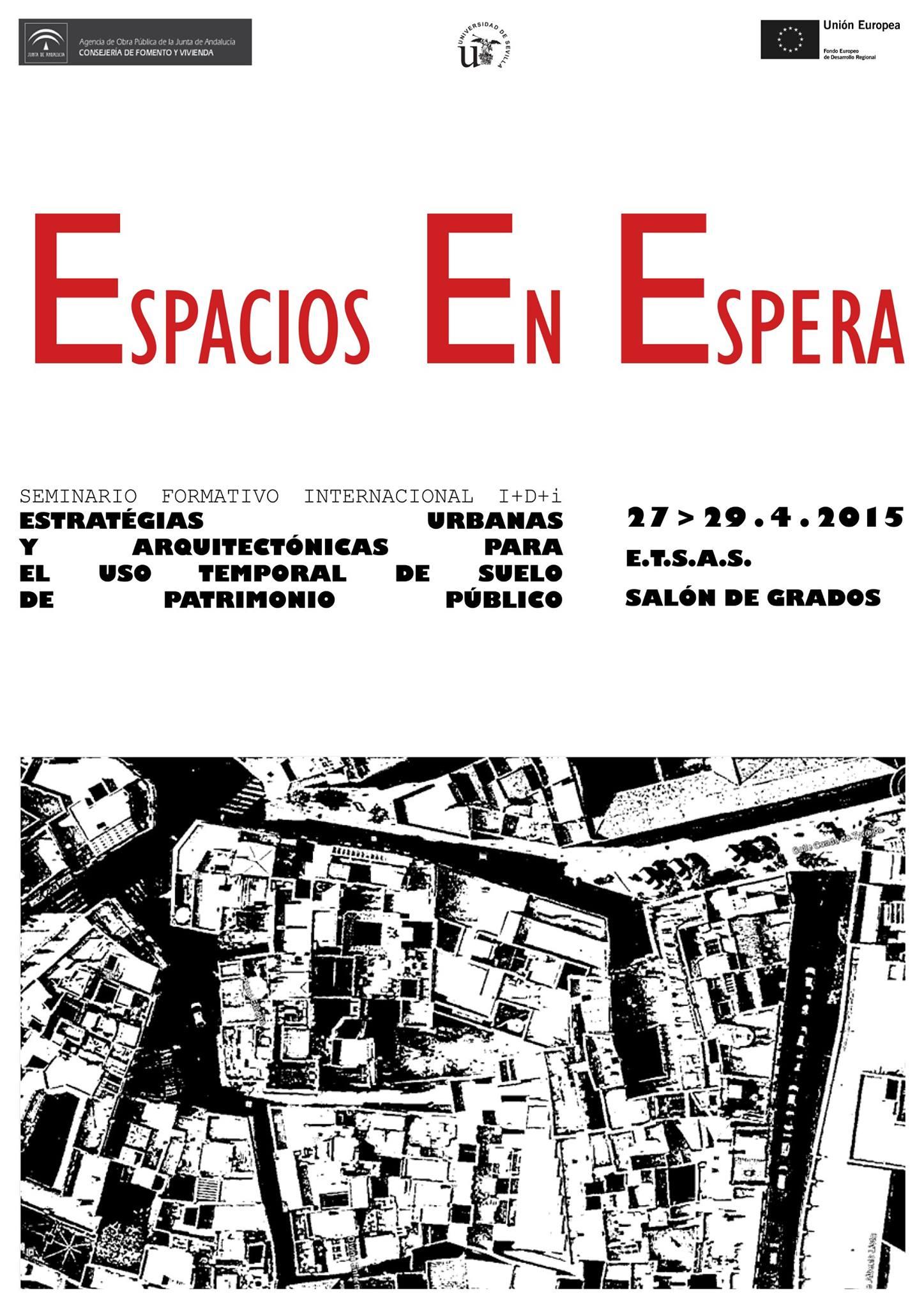 Cartel Seminario Espacios en Espera.