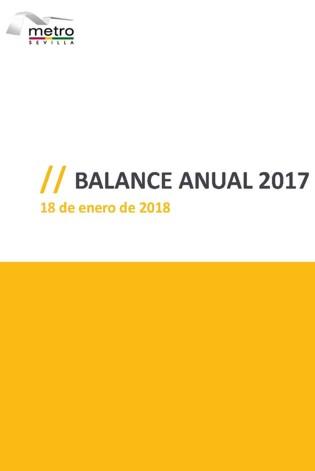 METRO DE SEVILLA Balance Anual 2017