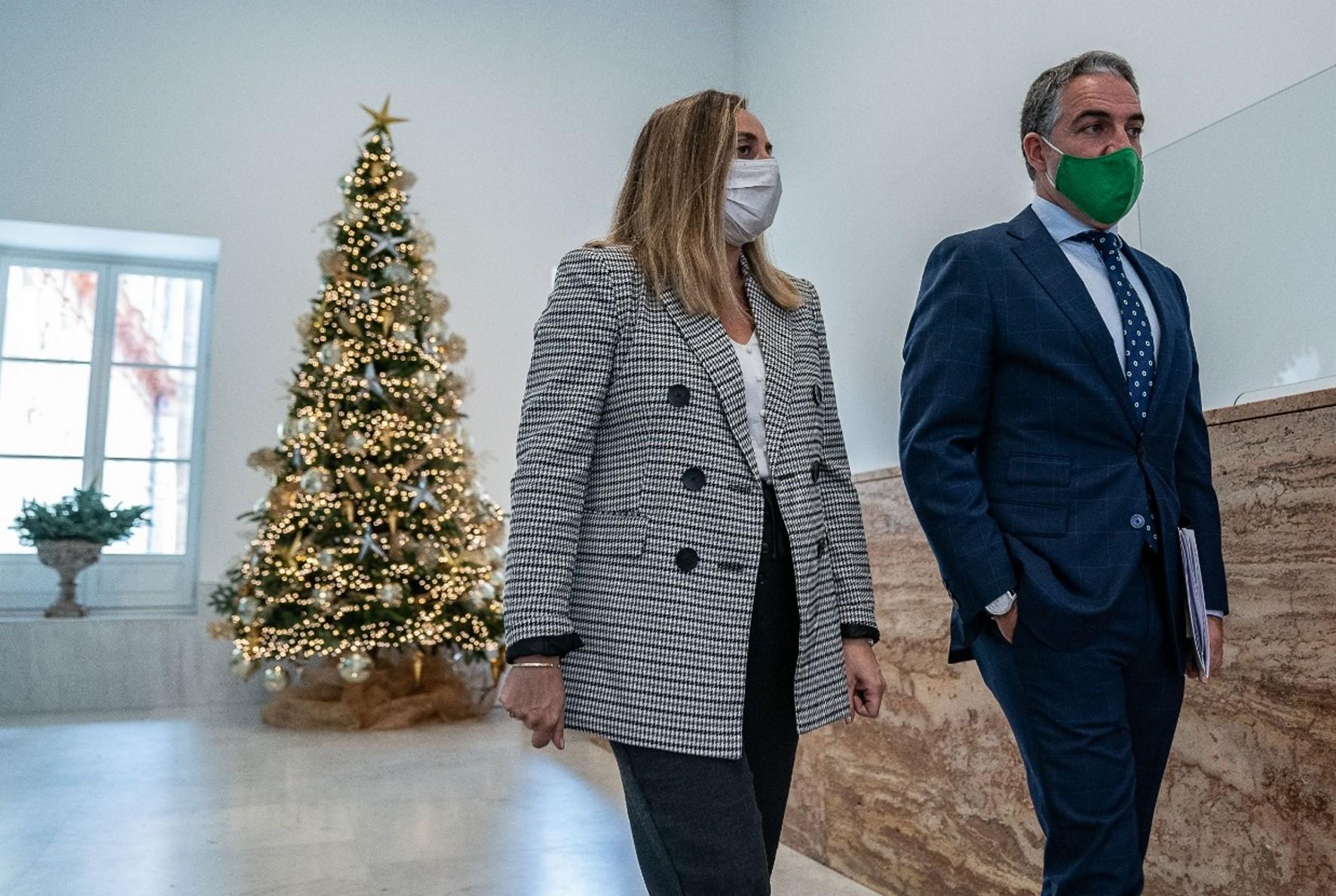La consejera Marifrán Carazo en consejo de gobierno del martes, 9 de diciembre.