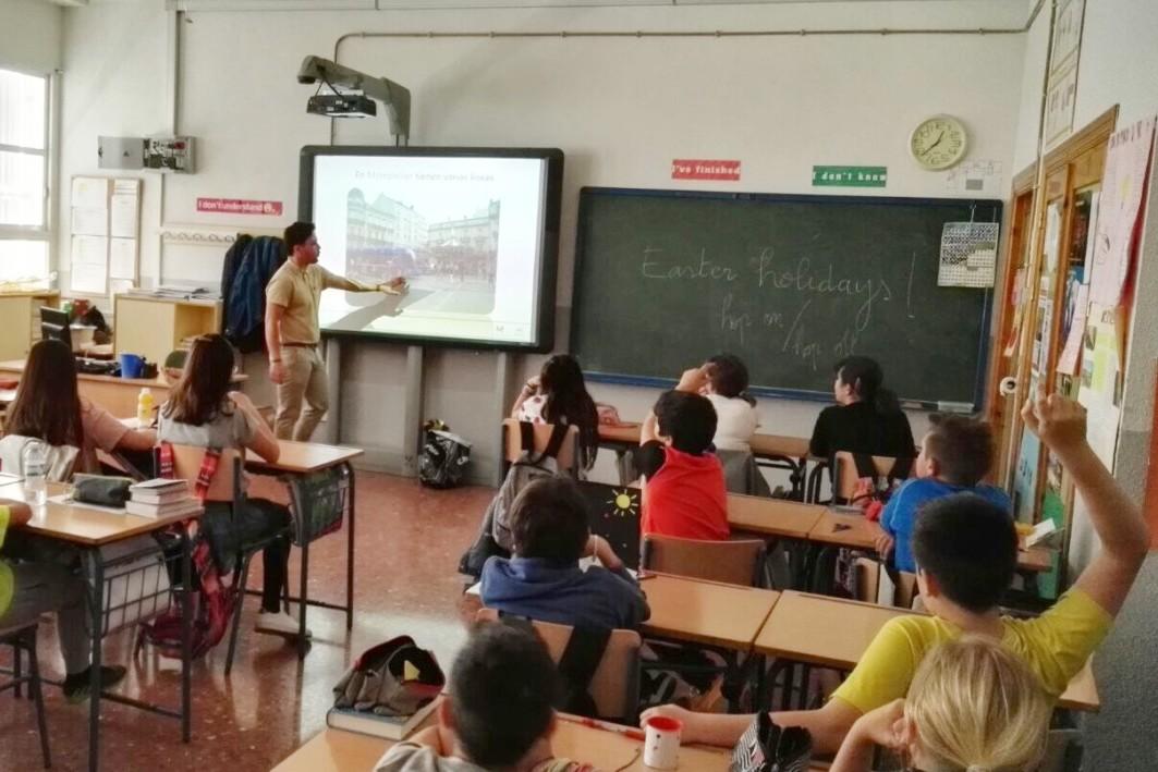 Más de 352 niños y niñas han participado en las charlas pedagógicas de la última semana