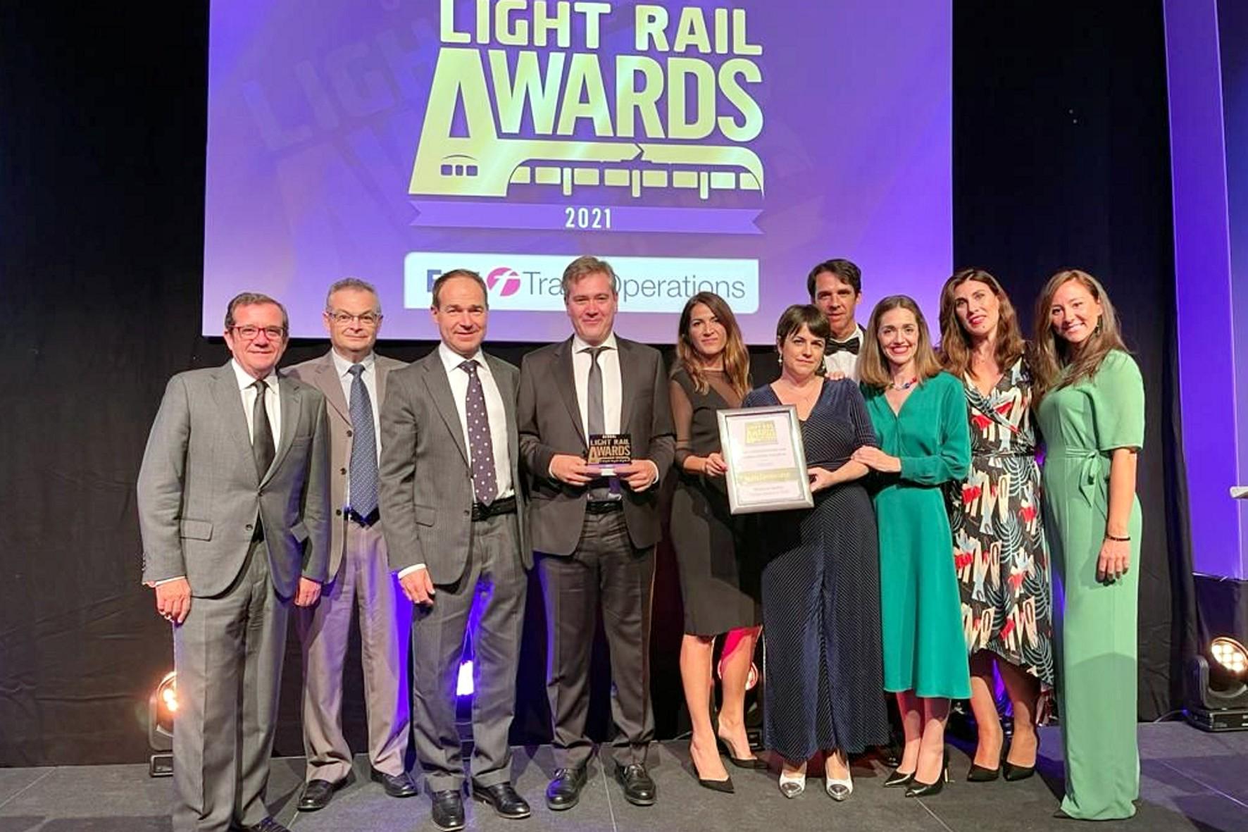 Estos premios, organizados por la editora de la revista Tramways & Urban Transit, son la referencia internacional del sector ferroviario