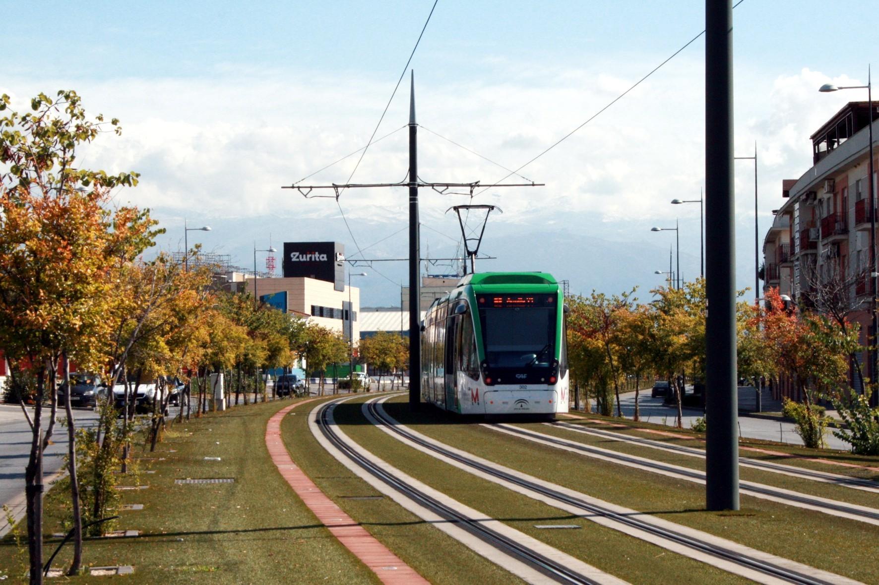 La Agencia de Obra Pública redactará los proyectos de ampliación del metro de Granada.