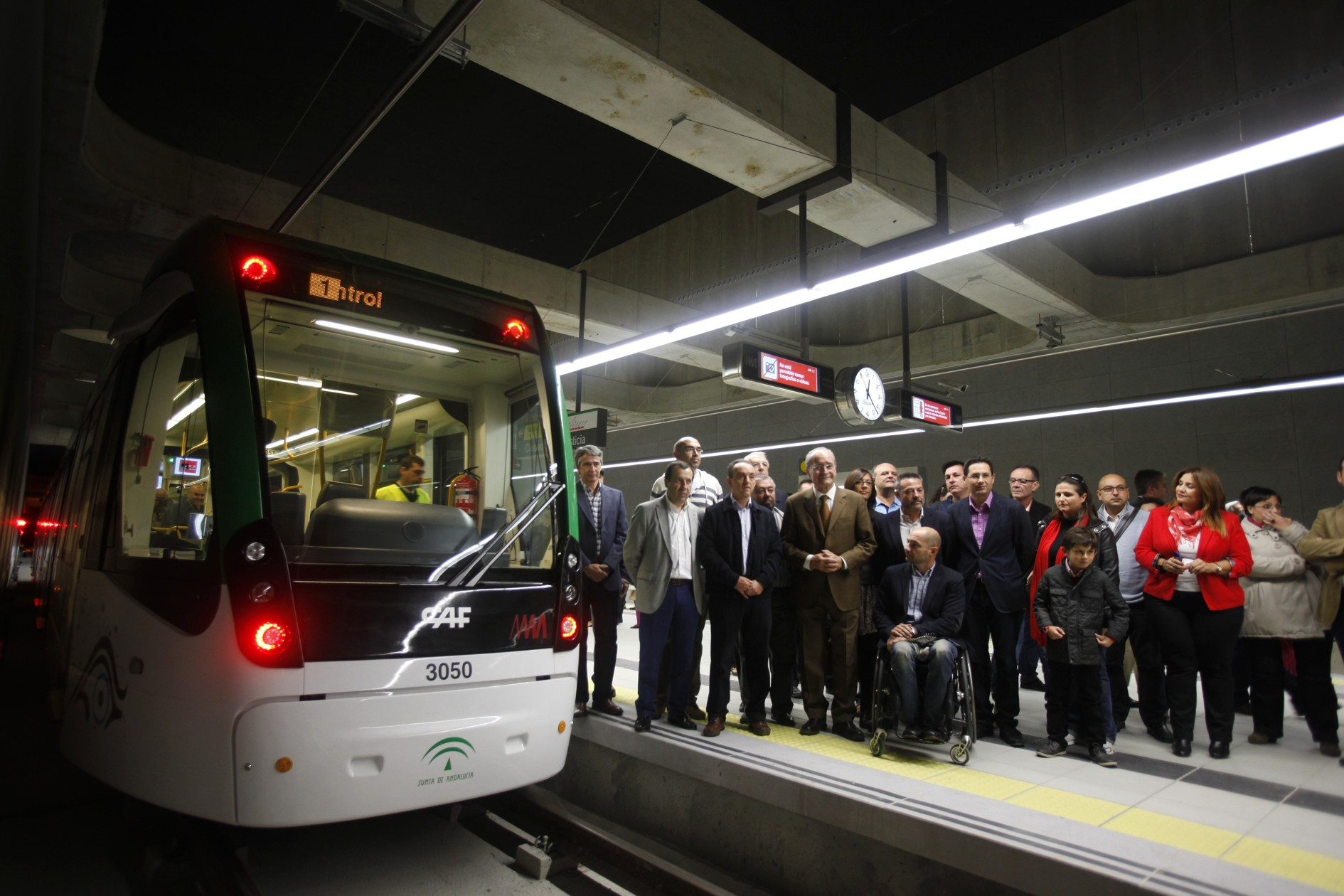 Los ciudadanos pudieron acceder a las estaciones en las Jornadas de Puertas Abiertas del pasado mes de noviembre.