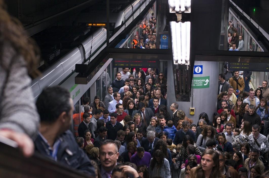 Desde septiembre del pasado 2013 la cifra de viajeros está repuntando con un crecimiento mensual del 3%
