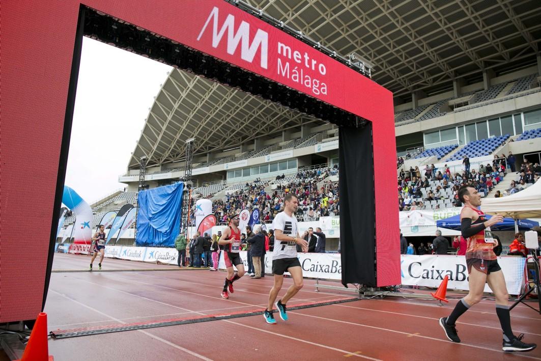 Media maratón Ciudad de Málaga, el año pasado.