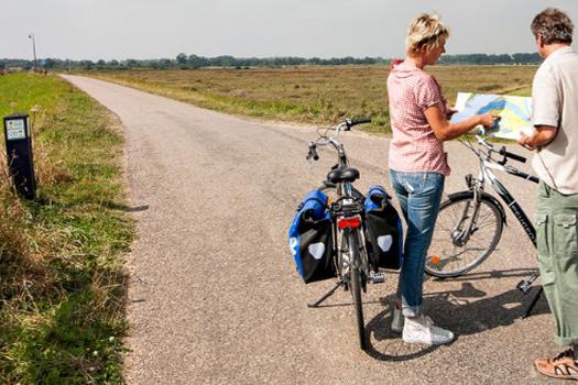 Las rutas EuroVelo en Europa están altamente frecuentadas por la práctica del cicloturismo. Foto: EuroVelo.