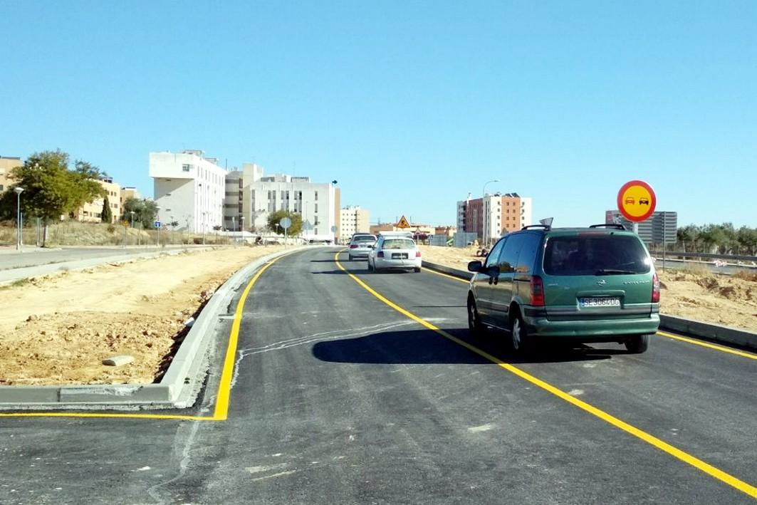 Las obras de la ronda sur de Mairena avanzan en la zona este del municipio.