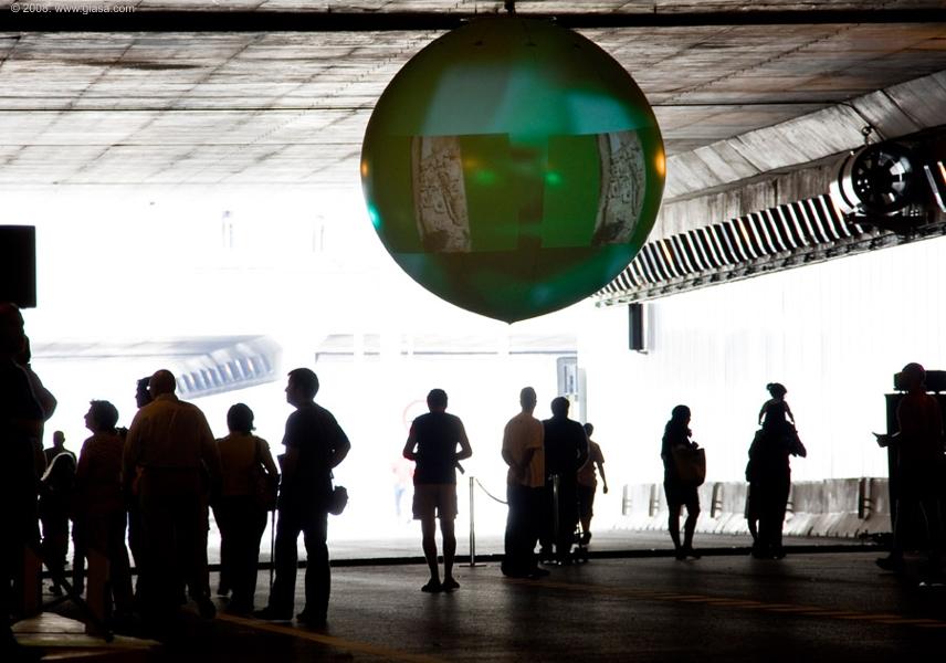 Durante las jornadas de inauguración, los ciudadanos pudieron acceder al interior del túnel.