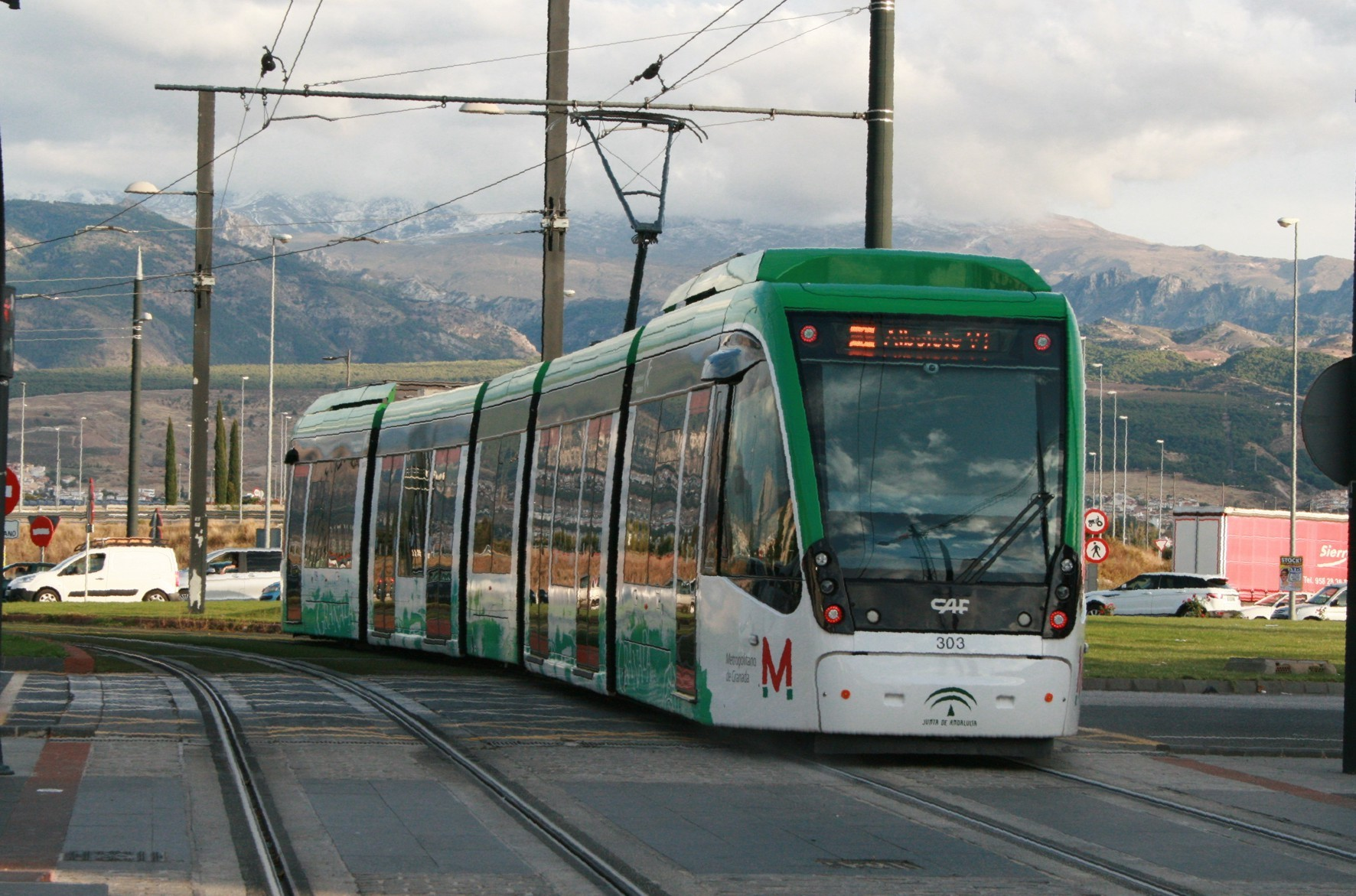 Metro de Granada transportó a 5,9 millones de vajeros durante 2020 a pesar de la pandemia