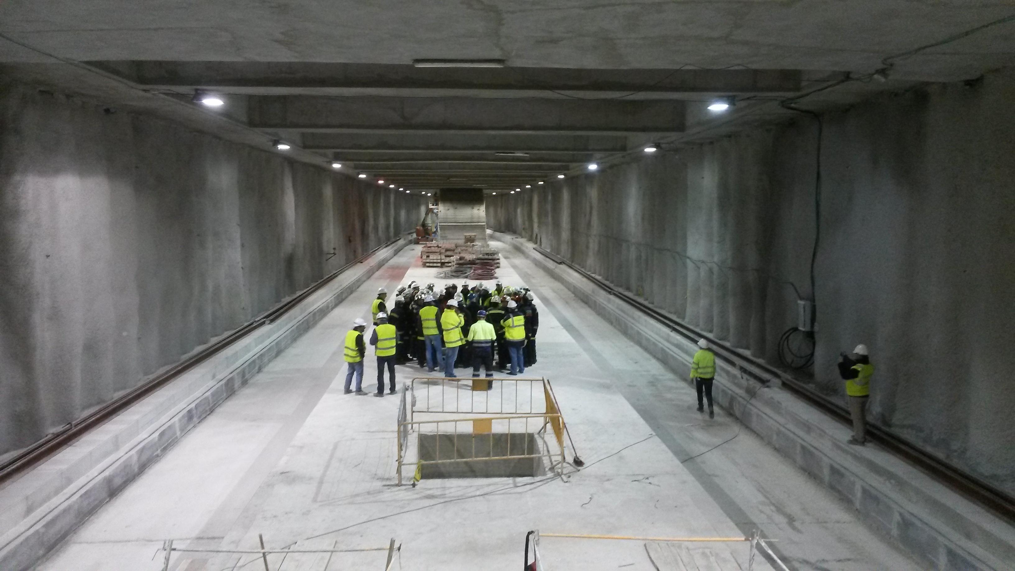 Las primeras sesiones se han impartido hoy en los túneles bajo el eje de Camino de Ronda-Avenida de América