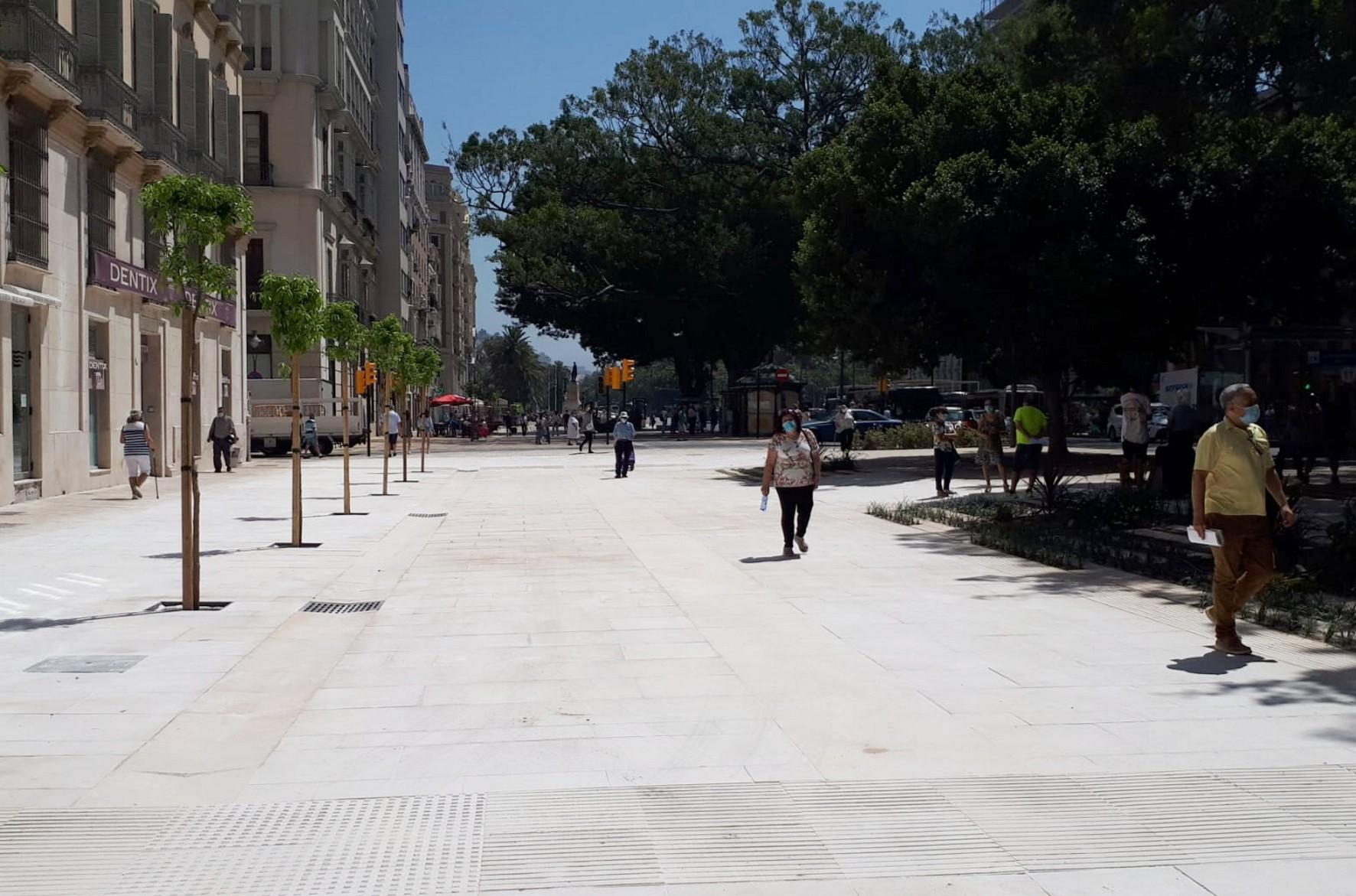 La Alameda Principal de Málagaa.