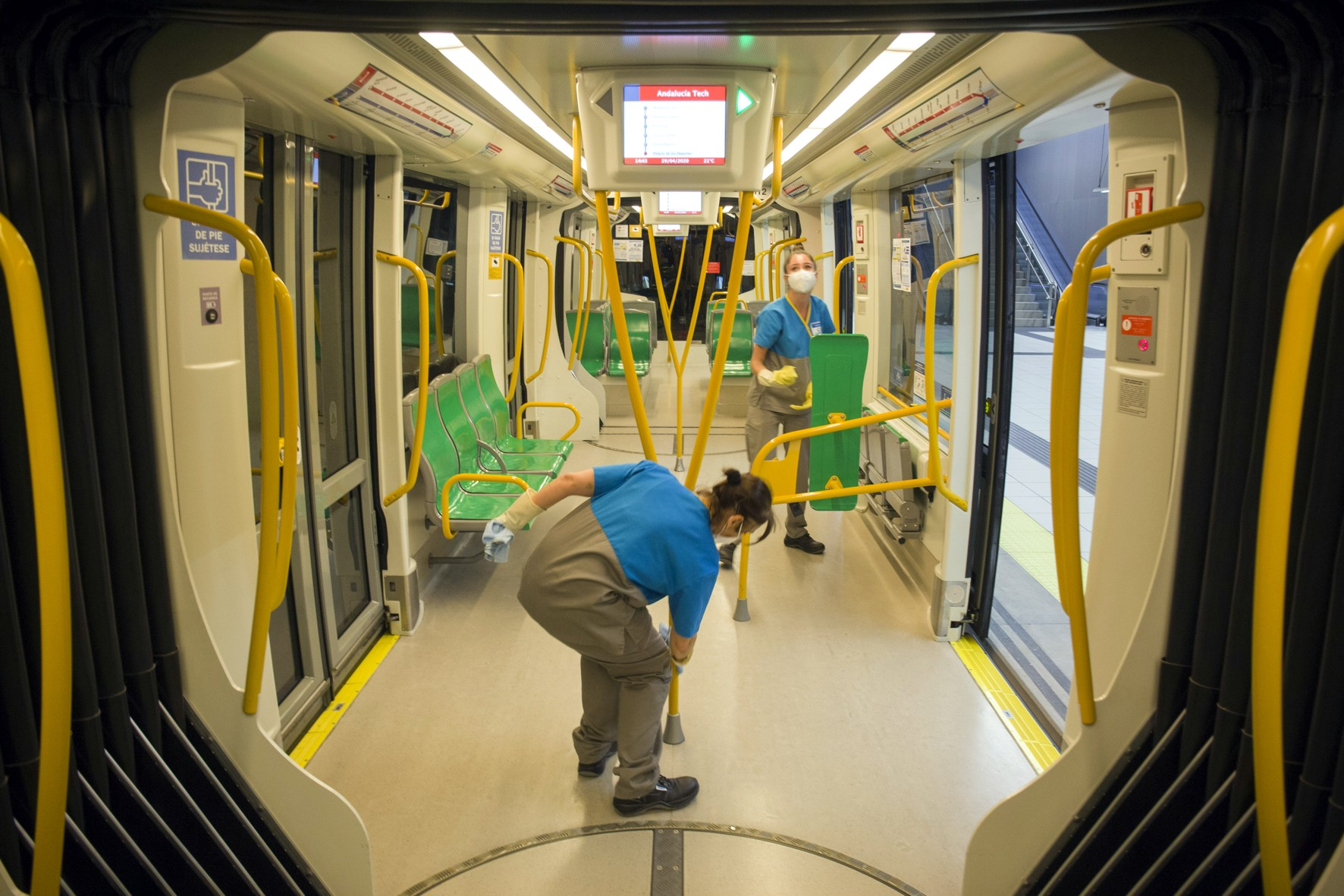 Limpieza Metro Málaga
