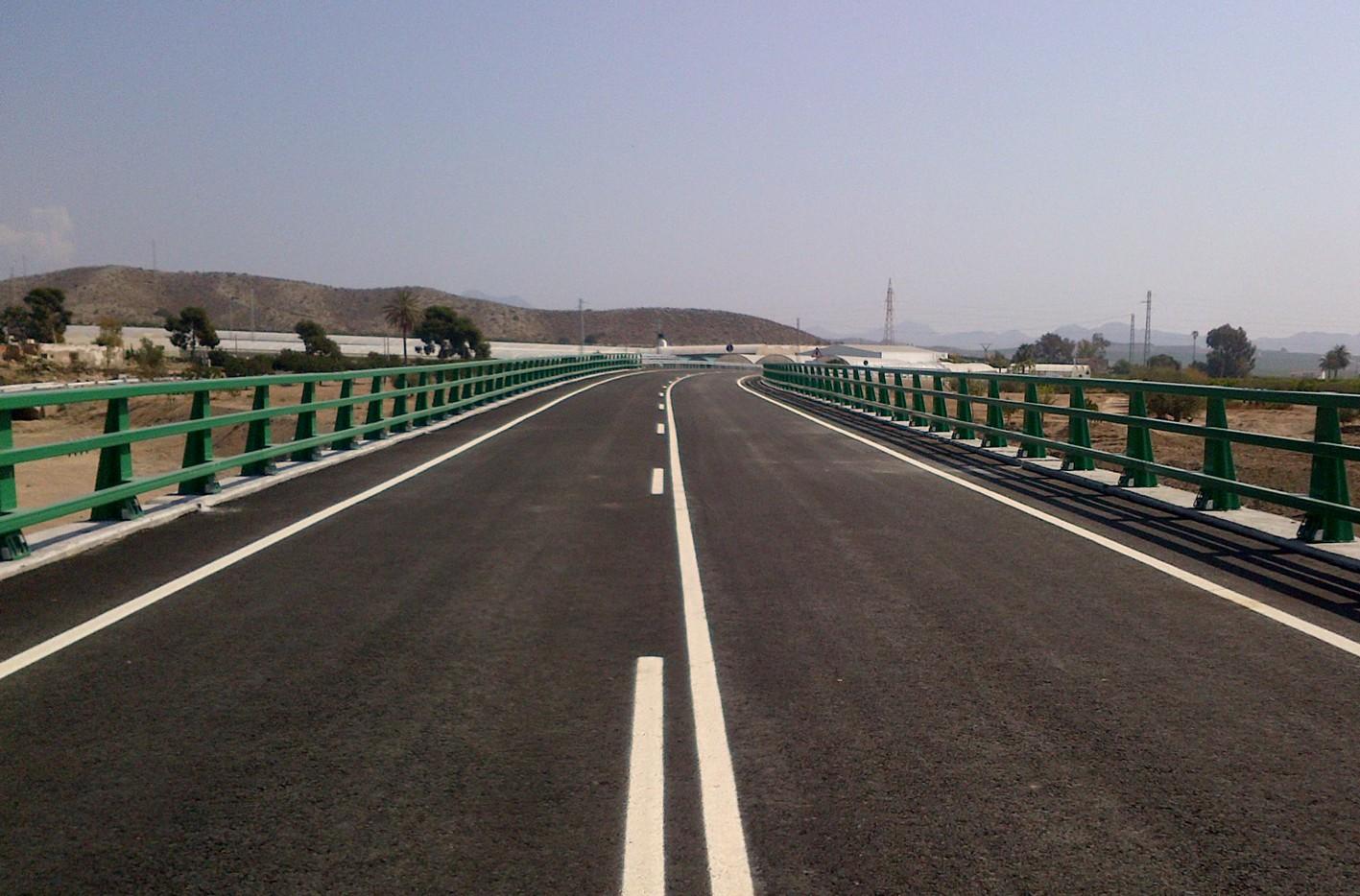 Las obras de emergencia han finalizado en la carretera A-350.