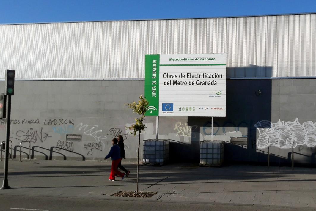Estación eléctrica de Juncaril, en Albolote.