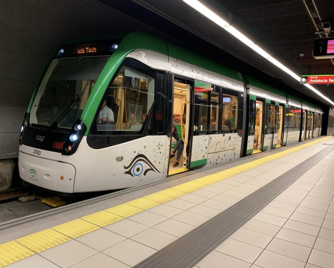 Metro de Málaga en servicio parcial hasta El Perchel desde 2014